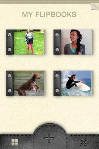 FlipBooks – تطبيق للتلاعب بالفيديوهات
