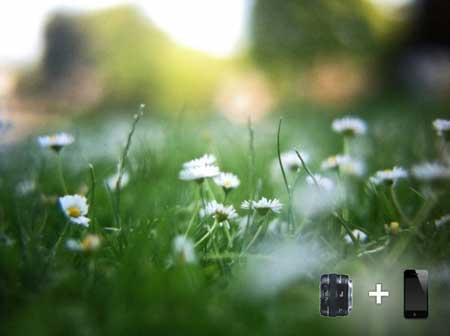 صورة تم إالتقاطها بواسطة الايفون 4 مع هذا الاكسسوار