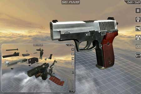 Gun Disassembly 2 Lite – تعلم كيف تفك وتركب المسدس