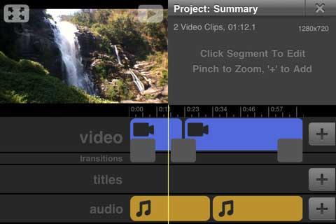 تحرير مقاطع الفيديو بجودة HD بواسطة الايفون