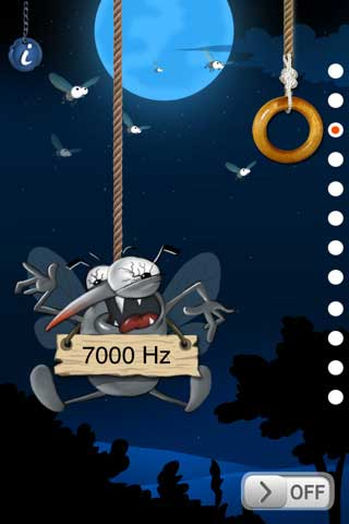 Mosquito free zone – تطبيق يخلصك من البعوض