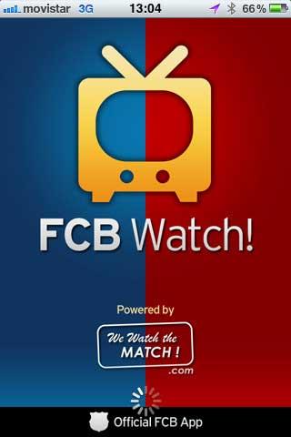 تطبيق FCB Watch لانصار برشلونة