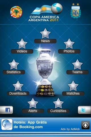 تطبيق Copa America