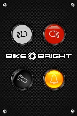 Bike Bright – تطبيق يحول جهاز إلى كاشف