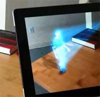 Photo of الايباد مع كاميرا Kinect يصنع الدهشة لدى الجميع