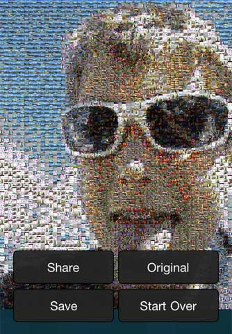 Photo Mosaica – تطبيق صورة الفسيفساء