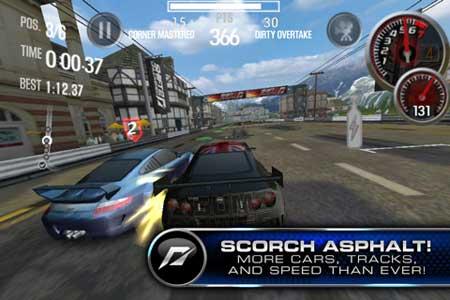الآن في الاب ستور: لعبة Need For Speed Shift 2 الرائعة