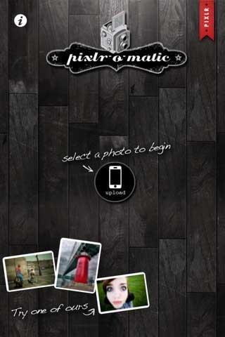 Pixlr-o-matic – اجعل صورك تبدو تذكارية قديمة