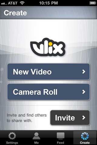 تطبيق Vlix للمؤثرات الخاصة بالفيديو