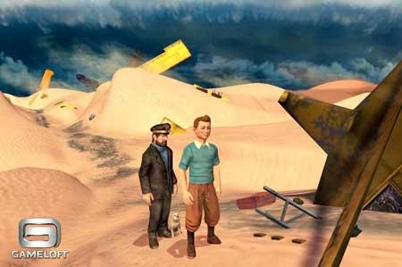 Gameloft تطلق صور لعبة مغامرات تين تين