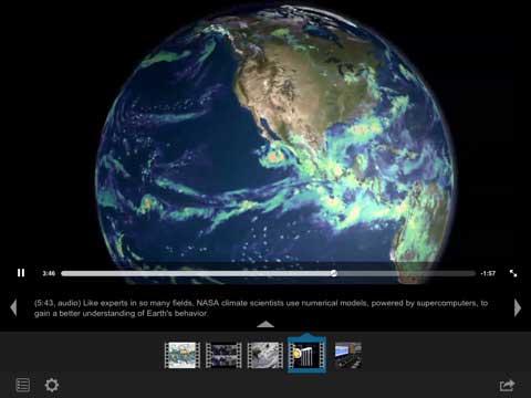 تطبيق NASA – تابع العالم من الفضاء الخارجي