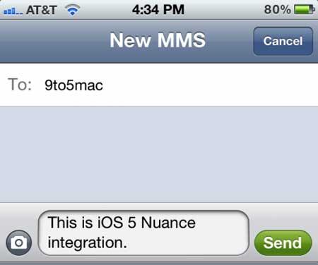 الكشف عن خدمة التعرف على الصوت الجديدة في iOS 5