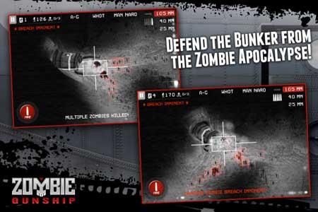 لعبة Zombie Gunship