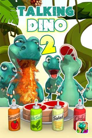 تطبيق Talking Dino
