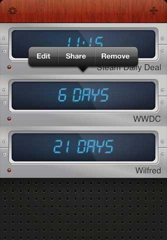 تطبيق Countdown 2 free