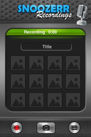 تطبيق Snoozerr Recordings
