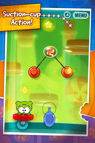Cut the Rope – لعبة اقطع الحبل
