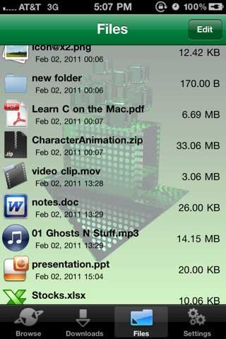 Downloader – تطبيق لتحميل وتخزين الملفات يدويا