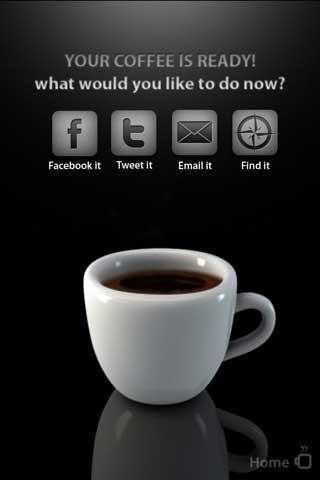 تطبيق لإعداد القهوة