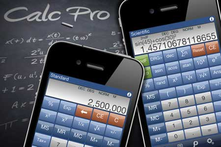 تطبيق الآلة الحاسبة الاحترافية