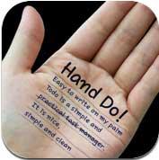 تطبيق Hand Do مفكرة من نوع آخر