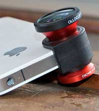 إكسسوار جديد لجهاز الايفون 4 يجعله كاميرا الماكرو
