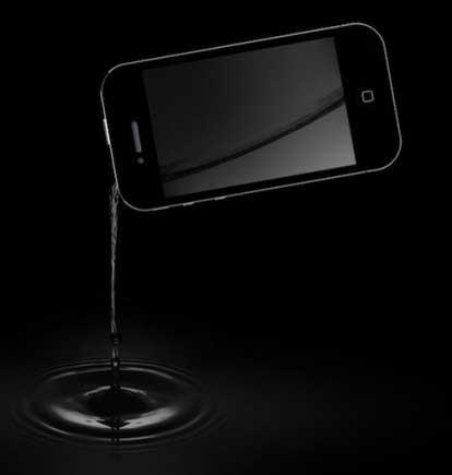 ابتكار: اشرب من جهاز هاتفك الايفون 4