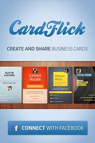 تطبيق CardFlick