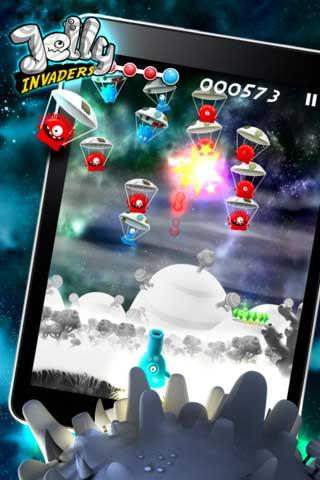 لعبة Jelly Invaders