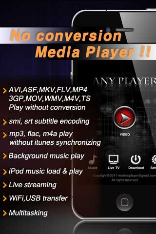تطبيق AnyPlayer