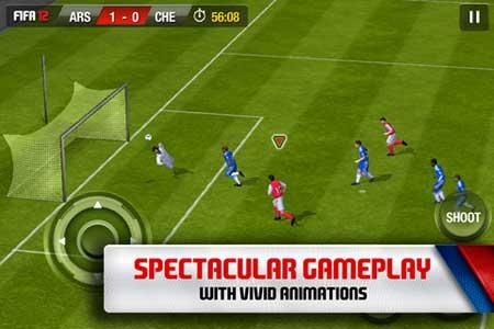 تطبيق FIFA 2012 الشهير