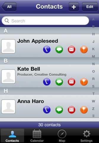 تطبيق ContactBook المجاني