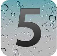 لوجو نظام التشغيل IOS 5