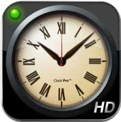 تطبيق Clock Pro HD - ساعة متعددة الوظائف