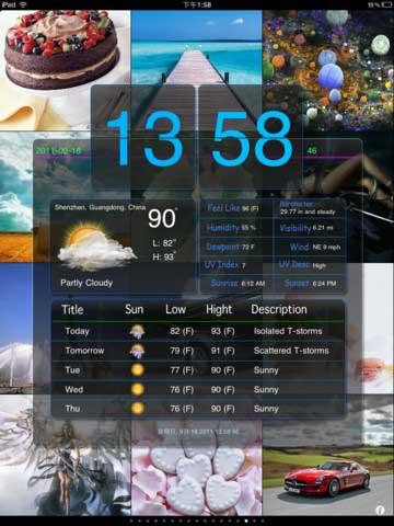مجانا تطبيق Weather Show HD