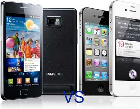 ايهما افضل: الايفون 4 أس ام جالاكسي اس 2 ؟