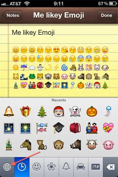 لوحة Emoji