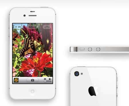 ايفون 4 اس مع كاميرا 8 ميجا بيكسل