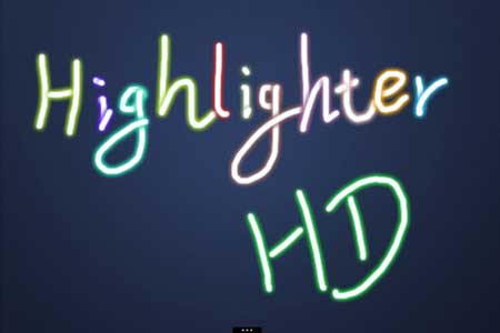 تطبيق Hilghlighter HD lite