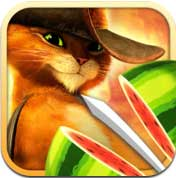 لعبة Fruit Ninja: Puss in Boots