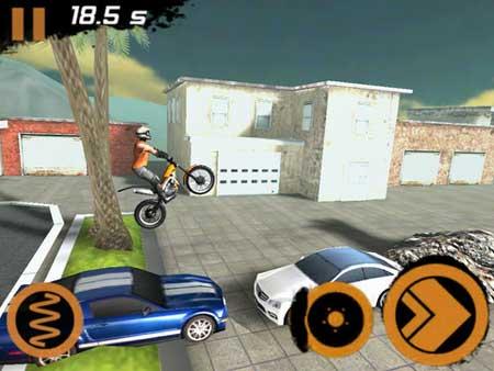 لعبة مغامرات الدراجة النارية