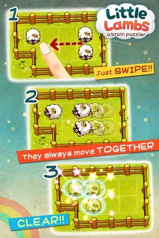 لعبة Little Lambs