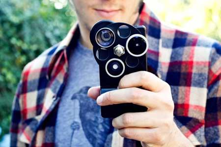 كساء جديد للأيفون مزود بثلاث عدسات للكاميرا