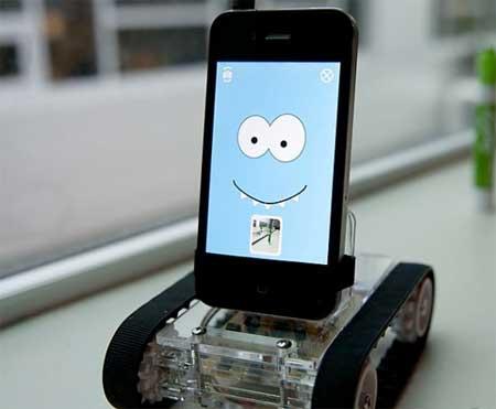 Romo: روبوت نتحكم به من خلال الايفون