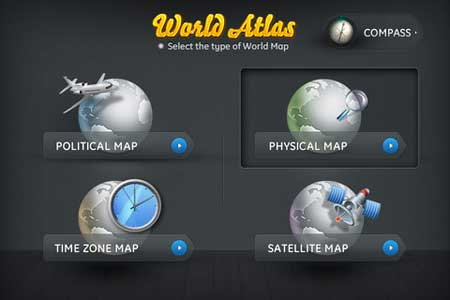 تطبيق World Atlas 2