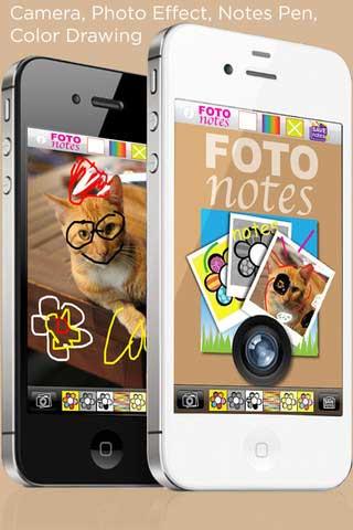 تطبيق Foto Notes
