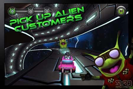 لعبة Cosmic Cab