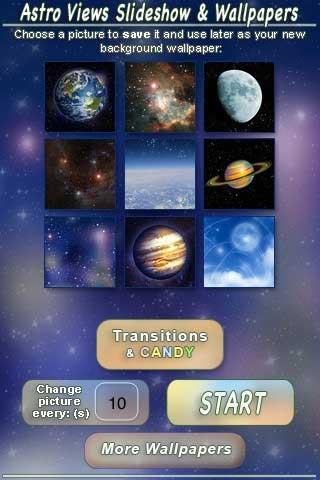 تطبيق مجاني للخلفيات الفضائية