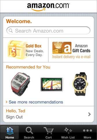 تطبيق Amazone Mobile