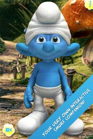 تطبيق iTalk Smurf